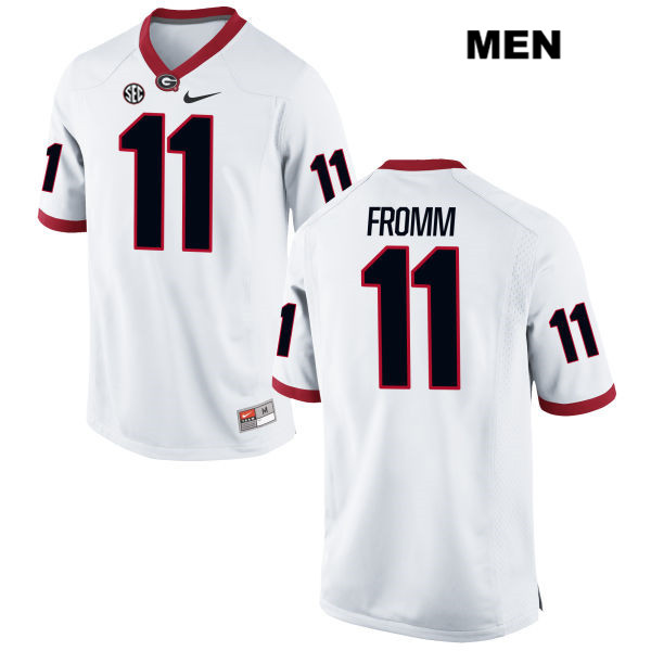 Nike Jake Fromm Georgia Bulldogs Stitched no. 11 Mens Red ...